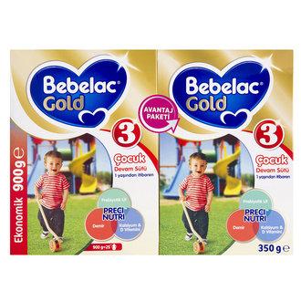 Bebelac Gold Devam Sütü 3 900 + 3 350 G