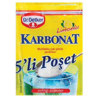 Dr.Oetker Limonlu Karbonat 5'Li 5 G