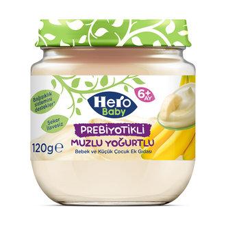 Hero Baby Prebiyotik Muzlu Yoğurtlu Kavanoz 120 G