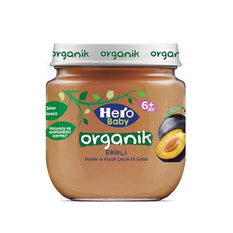 Hero Baby Organik Erik Püreli Kavanoz Mama 120 G