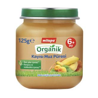 Milupa Organik Kayısı Muz 125 G