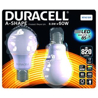 Duracell Led A60-e27 9W (60W)
