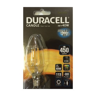 Duracell Led B35fıl-e14 4W (40W)