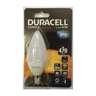 Duracell Led B35-e14 5.5W (40W)