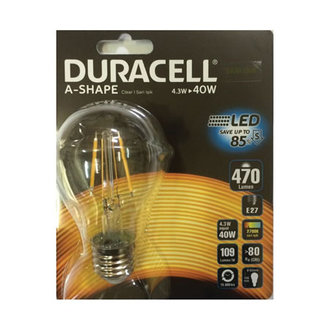 Duracell Led A60fıl-e27 4.3W (40W)