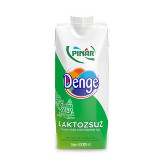 Pınar Laktozsuz Süt 500 Ml