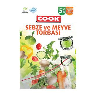 Cook Sebze Ve Meyve Torbası 5'li