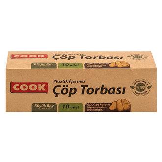 Cook Doğal Çöp Torbası Büyük Boy 10 Adet