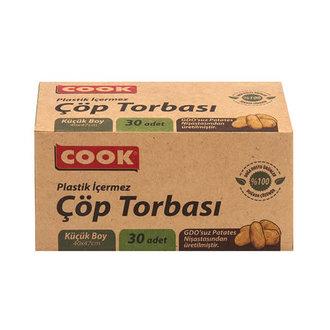 Cook Doğal Çöp Torbası Küçük Boy 30 Adet