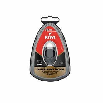 Kiwi Anında Parlatıcı Sünger - Siyah