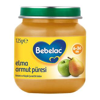 Bebelac Elma Armut Püresi 125 G