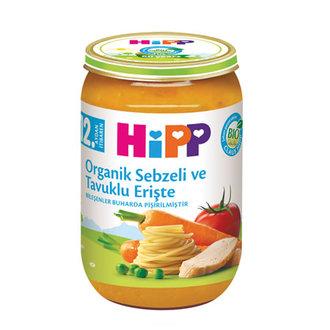 Hipp Organik Sebzeli Tavuklu Erişte 220 G