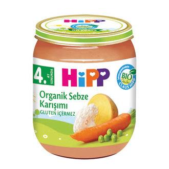 Hipp Organik Sebze Karışımı 125 G