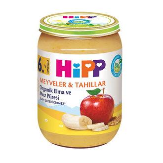 Hipp Organik Elma Ve Muz Püresi 190 G